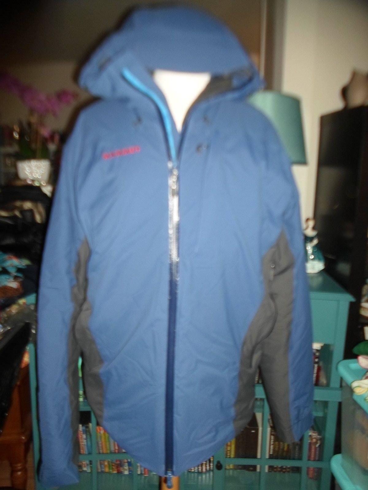 Mammut L Dry Tech Premium Jacket Blau Hooded