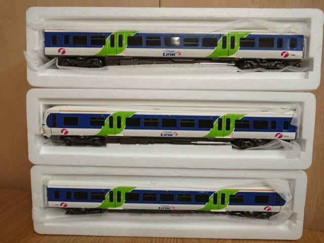 Bachmann 31-027 166 Turbo 3 Car DMU First Great Western/Link