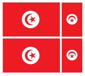 Vinyle autocollant autocollant Tunisie Tunisie tunisien Shield 100/mm 10,2/cm