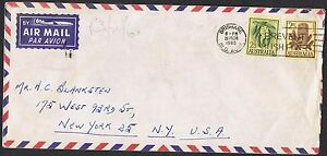 1959-64-Flowers-2-3d-amp-2-5d-on-airmail-cover-to-the-USA-TS300