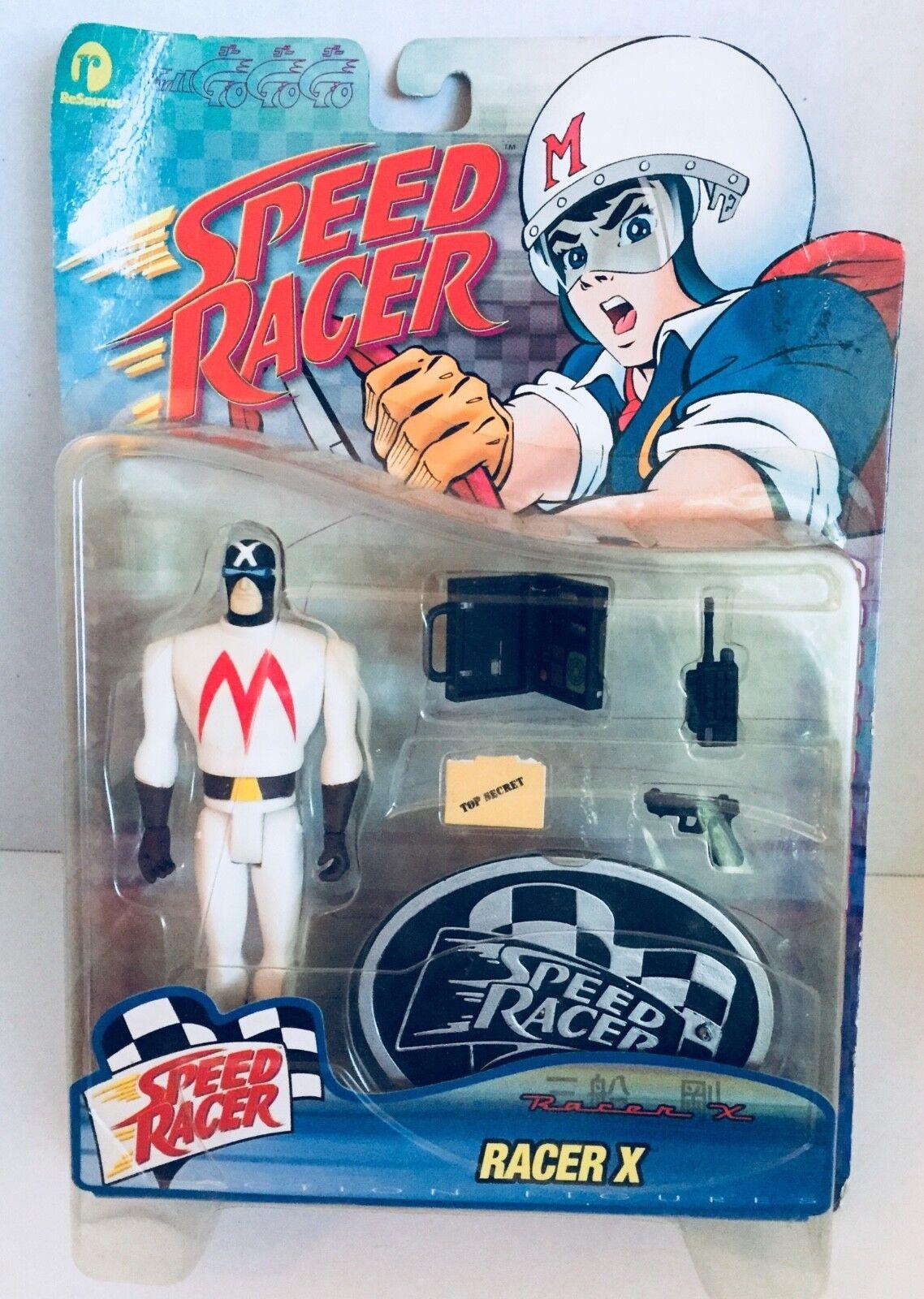 "Racer X, Speed Racer Series II Action Figure, ""RARE"" 1999 (NIB)"