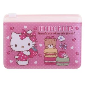 Sanrio-Hello-Kitty-10-7cm-W-x-7-4cm-H-Two-Layers-PVC-Card-Holder-9-7143-7