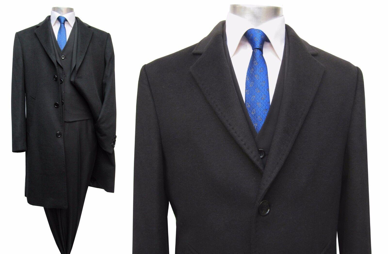 Herren Mantel lang Elegant Gr.60 Gr.60 Gr.60 Schwarz | Treten Sie ein in die Welt der Spielzeuge und finden Sie eine Quelle des Glücks  96d60d