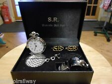 S.R. Guards Gift Set. Southern railway whistle badge watch replica