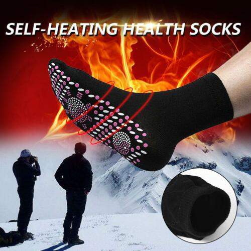 1Pc FIR Tourmaline Self-Heating Therapy Magnetic Socks Tourmaline Pain Relief