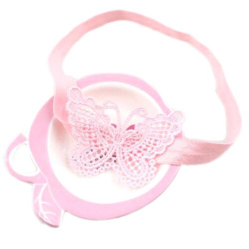 Butterfly headband hair band for newborns baby children girls hair accessoriesZJ