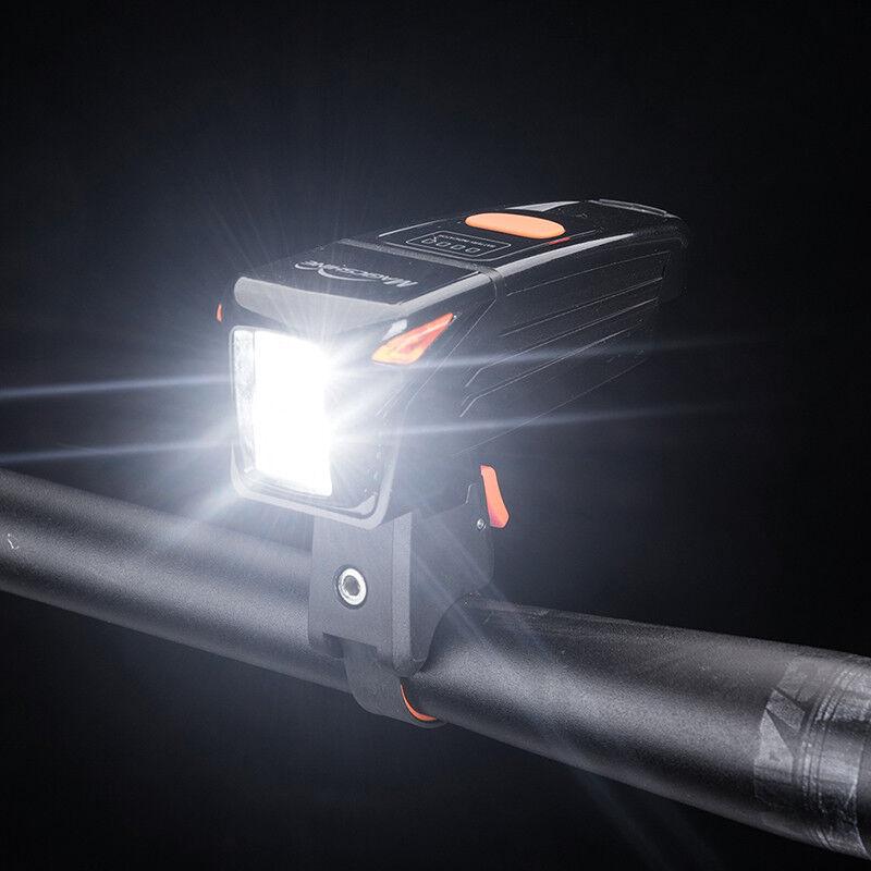 Magicshine ciclismo Cabeza Luz USB ReCochegable 900 Lumen LED IPX5 Impermeable