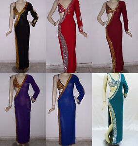 0d21a9423 Image is loading Sexy-Egyptian-Belly-Dance-Baladi-Saidi-Galabeya-Women-