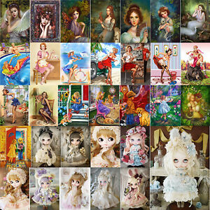 5D-DIY-Diamond-Painting-Children-Girls-Cross-Stitch-Embroidery-Kit-Crafts-Decor