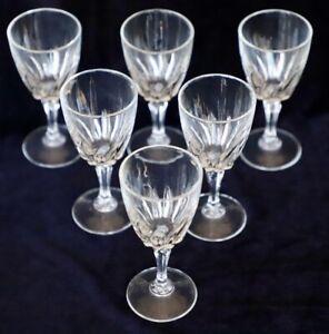 6-Cristal-D-039-Arques-Durand-Flamenco-Crystal-Cordial-Sherry-Glasses-75ml