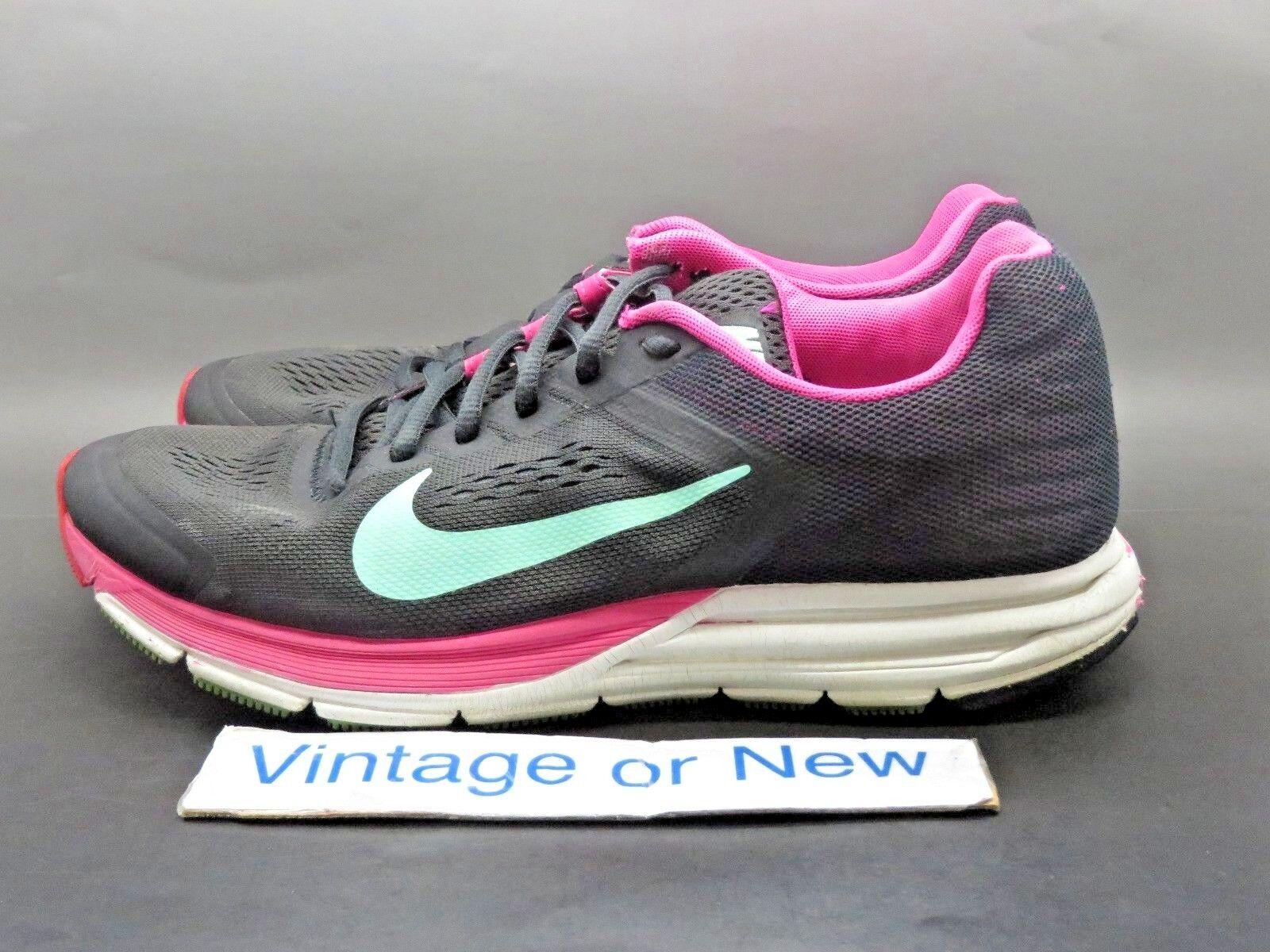 ce7ad93d71334d ... Women s Nike Zoom Structure+ 17 Charcoal Pink Foil Running Running  Running 615588-036 sz 8.5 ...