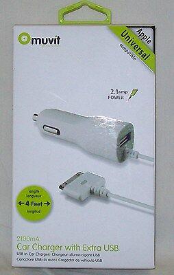 Cirago Apple iPad iPod Wall AC Charger 2.1A Optimum charging IPA2100 iPhone