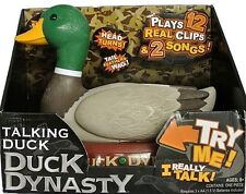 Duck Dynasty Talking Duck Plays 12 Real Clip & 2 Songs 8yrs Older New