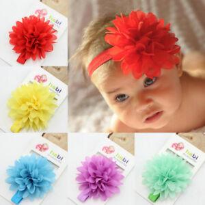10Pcs-Nouveau-ne-Filles-pour-Bebe-en-Mousseline-de-Soie-Fleur-Enfants-Cheveux-Bande-Serre-tete