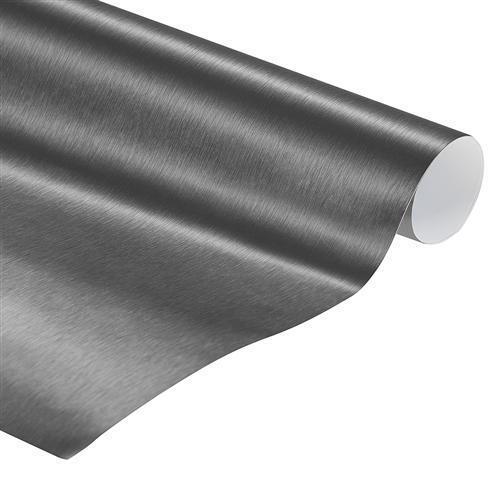 Car wrapping Folie Folie Folie Silber 3D Auto Klebefolie Mit Luftkanäle 152 cm | Schön geformt  de29b7