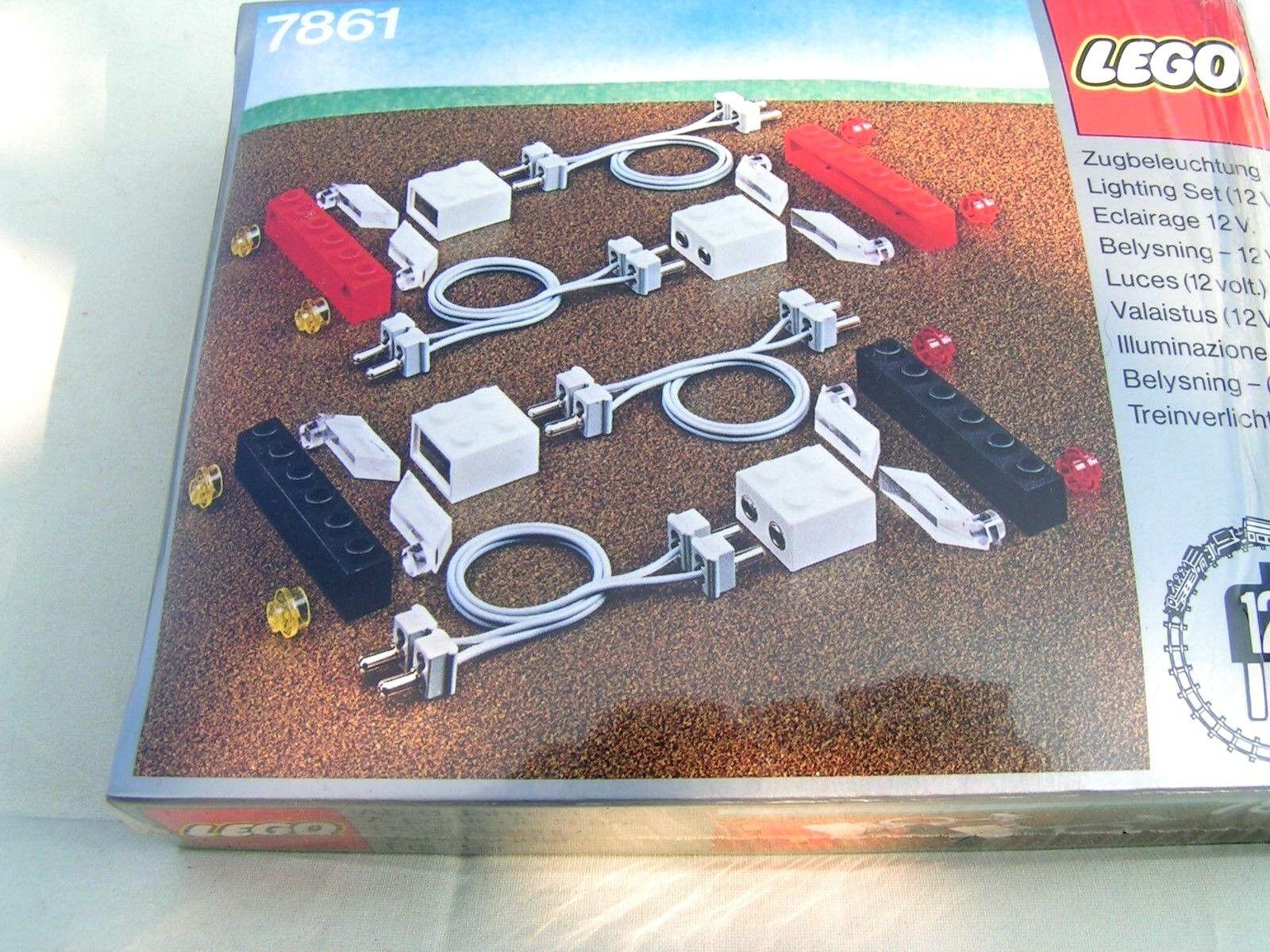 LEGO TRAIN     ECLAIRAGE 12 VOLTS   ref. 7861    TRES RARE