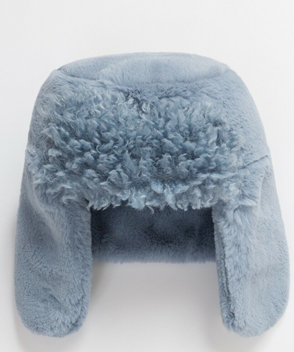 Pia Rossini Luxury Trapper Hat And Matching Fingerless Gloves RRP