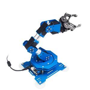 Details about 6DOF Robot xArm 6-Axis Aluminum Robotic Arm with Servos  Mechnical Robot Arm tps