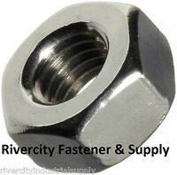 (10) M7-1.0 Or 7mm Metric Coarse Thread Hex Nut Stainless Steel Din 934