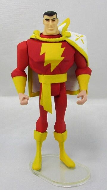 JLU Custom Shazam  Captain Marvel Super Powers era DC Comics