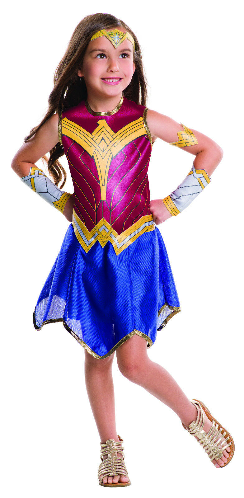 Justice League - Super Hero Teen Girls Wonder Woman Costume Tween