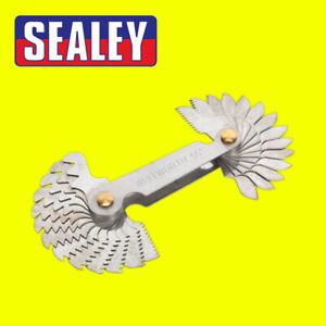 Hand Tools AK72SPG Sealey Screw Pitch Gauge Set 30pc UNC-UNF