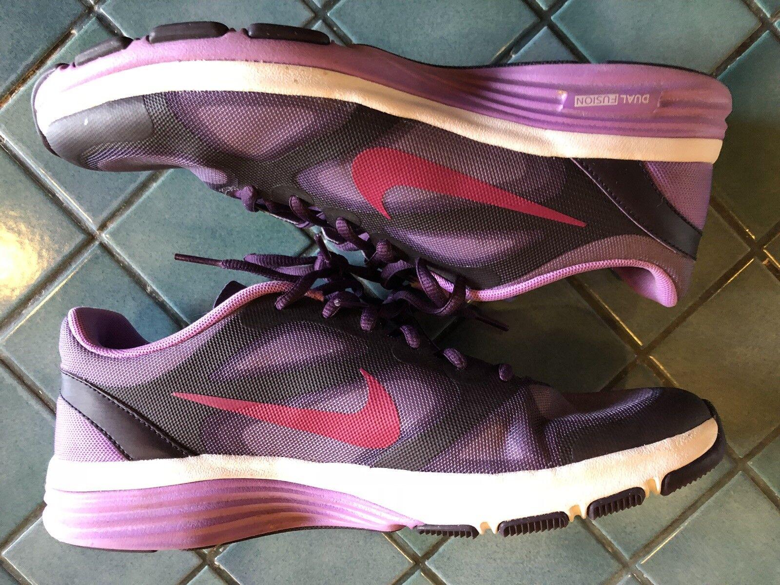 donne doppia fusione tr in scarpe da ginnastica le le le scarpe nike sz 9 viola / rosa 443837 500 | Discount  | Uomini/Donne Scarpa  7d156b