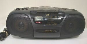 JVC AM/FM Radio Cassette CD Portable System RC-X250 Fully Tested & Working