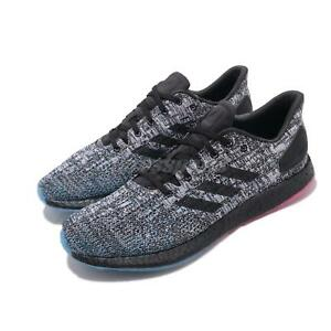 9fce4ed97 adidas PureBOOST DPR LTD Black Grey Blue Men Running Training Shoes ...