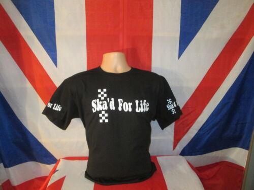 Ska D pour la vie T Shirt Noir.