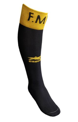 eescord soccer socks color Black and Yellow
