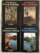 FULL SET - AN INTRODUCTION TO x4 Books H/B Carp Pike River Stillwater Fishing