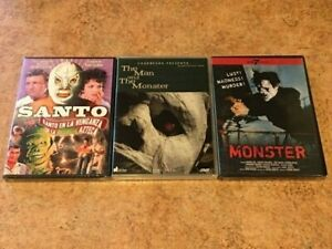 NEW-Mexican-Horror-DVD-Lot-Santo-Man-and-the-Monster-Monster-1953-RARE-OOP