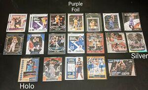 220 Panini Basketball Lot Rookies & Vets Lebron Luka Morant Zion & more 🔥🔥🔥