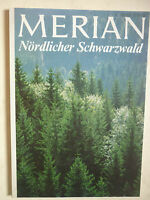 Reisemagazin MERIAN.  NÖRDLICHER SCHWARZWALD   Heft 5 /1979   32.Jahrgang