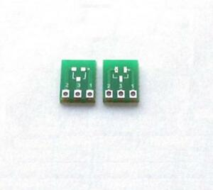 20pcs-New-Double-Side-SMD-SOT23-3-to-DIP-SIP3-Adapter-PCB-Board-DIY-Converter