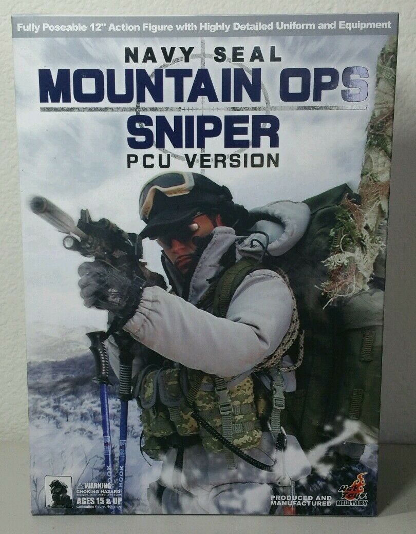 HOT TOYS 1 6 NAVY SEAL MOUNTAIN OPS SNIPER ACU VERSION