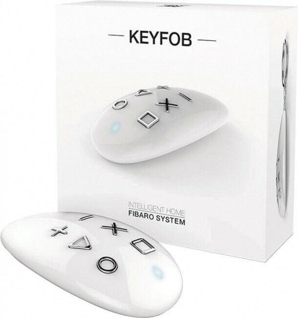 Fibaro KeyFob, Fernsteuerung Weiß Z-Wave+ Neu und OVP   Reichlich Und Pünktliche Lieferung