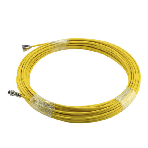 30m Sewer Pipe Cable Yellow for Sewer Pipeline Inspection Camera Video Detector