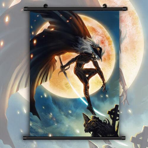 Bloodlust HD Print Anime Wall Poster Scroll Room Decor Vampire Hunter D