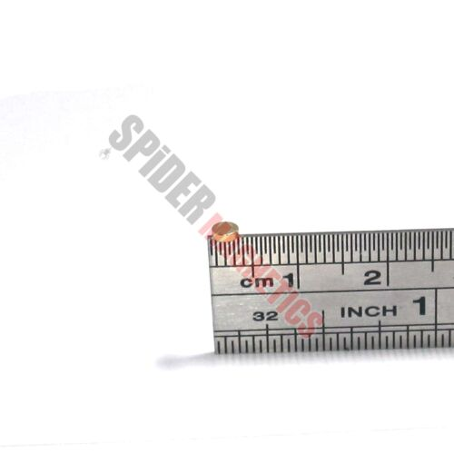 Tiny magnets 3x1 mm N52 neodymium disc GOLD plated craft jewellrey 3mm dia x 1mm