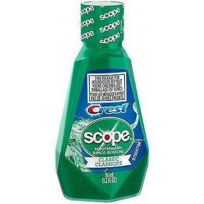 Crest Scope Classic Mouthwash 1.2 oz