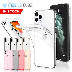 iPhone-11-Pro-Max-X-XS-MAX-XR-iPhone-8-Plus-7-Plus-Case-Clear-Slim-Soft-Cover
