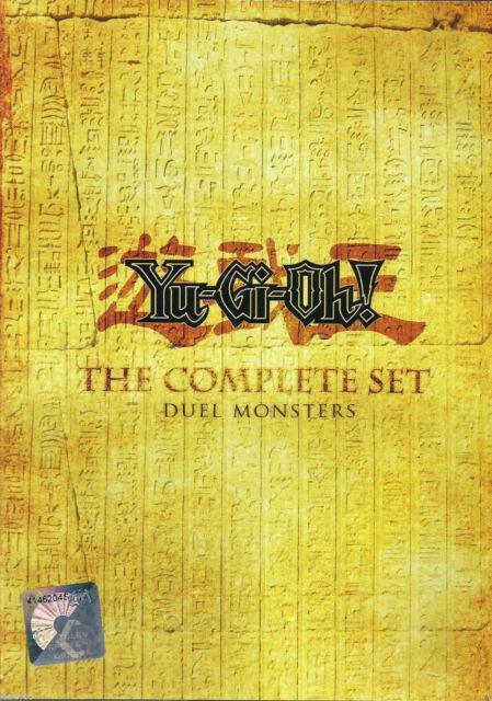 YU GI OH Complete Series Seasons 1 2 3 4 & 5 Animation DVD Boxset English Audio