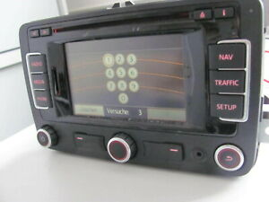 Navi Navigationseinheit RNS310 VW Touran Modell 2010 3C0035270
