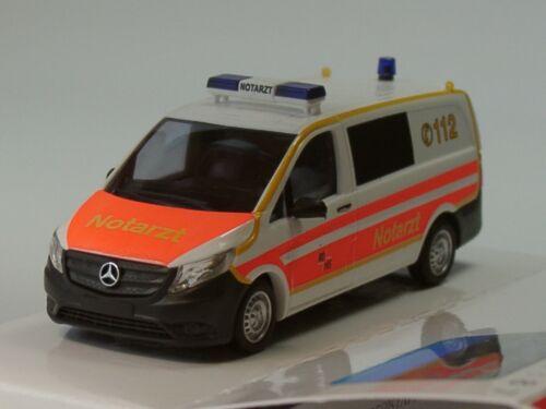 51135-1:87 neutre Busch Mercedes Vito ambulance