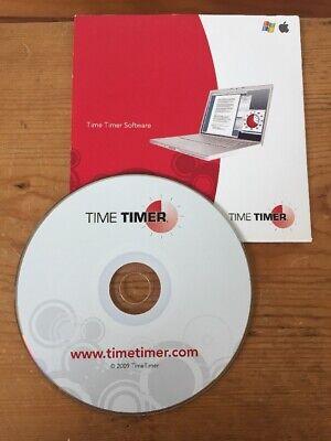 2009 Time Timer Timetimer Management Windows Macintosh Mac Software Cd-rom Disc Other Computer Software