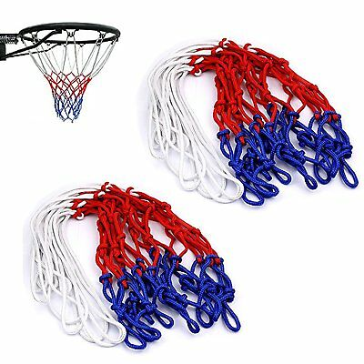 Basketball Hoop Net Strong Durable Standard 12 Loop Backboard Net Game Play DIY