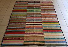 Vintage Caput Kilim Rug Handmade with Goat Hair and Cotton Carpet 7'9''X9'8''