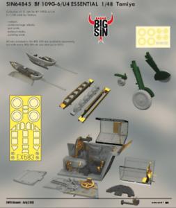 Eduard Big Sin 1 48 Messerschmitt Bf-109G-6 U4 Essential SIN64845
